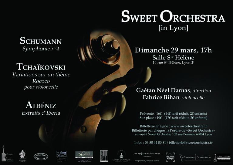 Affiche concert 29 Mars